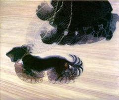 Dynamism of a Dog on a Leash by Giacomo Balla, 1912