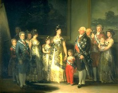 Family of Charles IV, Francisco de Goya, 1800, Prado, Madrid,Spanish Romanticism