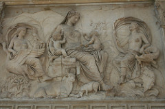 Female Personification - Frieze from Ara Pacis