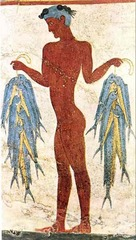 Fisherman Fresco (Minoan)