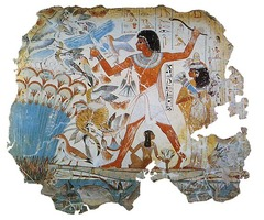 Fowling Scene from Tomb of Nebamun