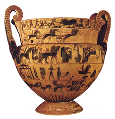 Francois Vase, Klietias, 570 BC,Greek