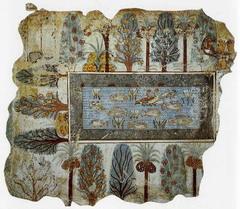 Garden of Nebamun (New Kingdom)  (Egypt)