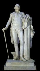 George Washington. Jean-Antoine Houdon. 1788-1792. marble