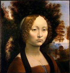 Ginevra de'Benci by Leonardo Da Vinci  1478-1480