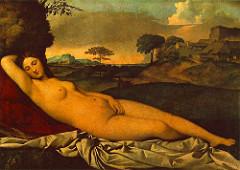 Giorgione: Sleeping Venus
