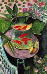 Goldfish. Matisse. 1912. oil on canvas