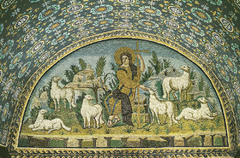 Good Shepherd Mosaic, Galla Placidia  (Early Christian)