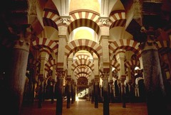 Great Mosque. Cordoba, Spain....horse shoe arches