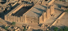 Great Mosque of Djenne. Mali. founded 1200 ce. adobe