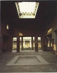 HOuse of the Vettii. Pompeii, Italy. Imperial Roman. c. second century bce. rebuilt c. 62-79 ce cut stone and fresco