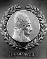 How did Innocent III embody the Church's political power?