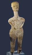 Human figure, from Ain Ghazal, Jordan