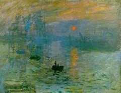 Impression: Sunrise by Claude Monet, 1872