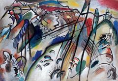 Improvisation 28. Kandinsky. 1912. oil on canvas