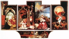 Isenheim altarpiece. open