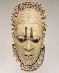 Ivory Belt Mask,1550,ivory,iron,African Art