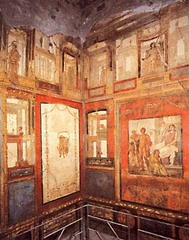 Ixion Room, 70 CE, fresco,Roman Art