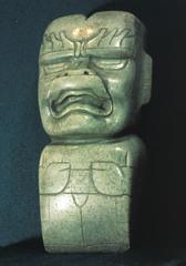 jade celt (Olmec)  (Americas)