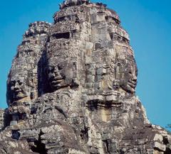 Jayavarman VII as Buddha....Angkor Wat