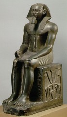 Khafre, c. 2500 B.C.E., Egyptian Museum, Cairo,Egyptian Old Kingdom Art
