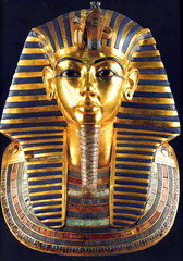 King Tutankhamen, c.1323 B.C.E.,Egyptian New Kingdom Art