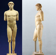 Kritios Boy, c. 480 B.C.E., marble, Greek Classical