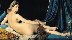 La Grande Odalisque. Ingres. 1814. oil on canvas