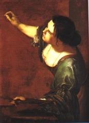La Pittura by Artemisia Gentileschi, 1638-1639