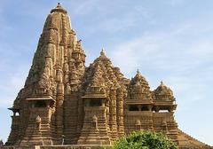 Lakshmana Temple . Khajuraho, India, Hindu, Chandella Dynasty. 930-950 ce. sandstone