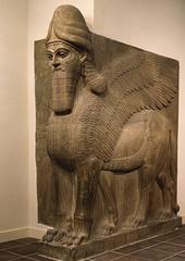 lamassu (Assyrian)  (Ancient Near East)