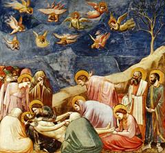 Lamentation....Scrovegni Chapel. Giotto. fresco