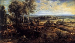Landscape, Peter Paul Rubens, Baroque Art