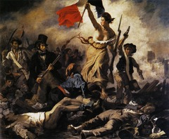 Liberty Leading the People by Eugene Delacroix, 1830