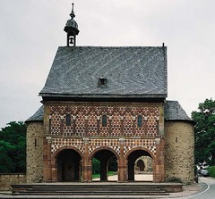 Lorsch Gatehouse,760,Lorsch Germany,Carolingian Art