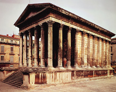 Maison Carree (Early Empire)  (Rome)