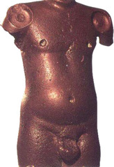 male torso from Harappa (Indus Valley Civilization)