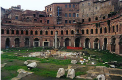 Market of Trajan, 100-112 C.E.,Roman Art