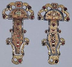 Merovingian (Frankish) fibula