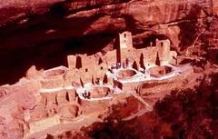 Mesa Verde cliff dwellings. Montezuma county, Colorado, Puebloan. 450-1300 ce. sandstone