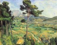 Mont Saint Victoire by Paul Cezanne, 1885-1887