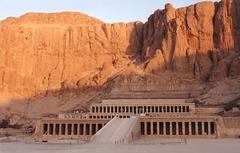 Mortuary Temple of Hatshepsut Egypt. New Kingdom, 18th Dynasty. c. 1473-1458 BCE. Sandstone