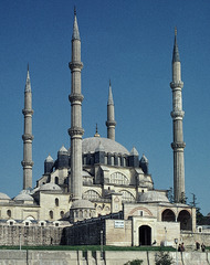 Mosque of Selim II. Edirne, Turkey. Sinan architect. 1568-1575. Brick and stone
