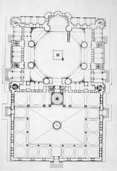 Mosque of Selim II plan
