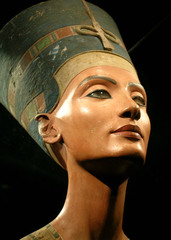 Nefertiti, 1353-1335 B.C.E.,Egyptian New Kingdom Art