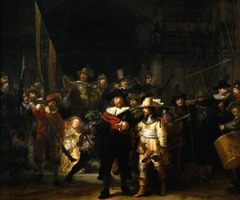 Night Watch, Rembrandt van Rijn, 1642, Rijksmuseum, Amsterdam,Dutch Baroque Art