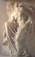 Nike Adjusting her Sandal, temple of Athena Nike (acropolis)