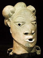 Nok Head,500-200BC,terra-cotta,African Art