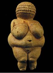 Nude Woman (Venus of Willendorf), from Willendorf, Austria