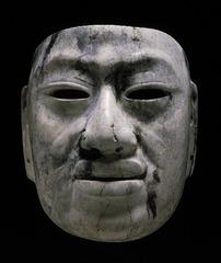 Olmec-style mask
